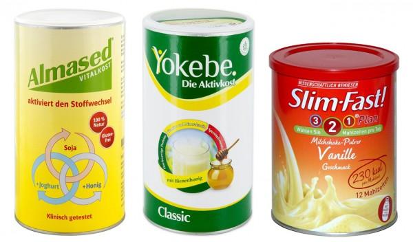 Almased, Yokebe, SlimFast